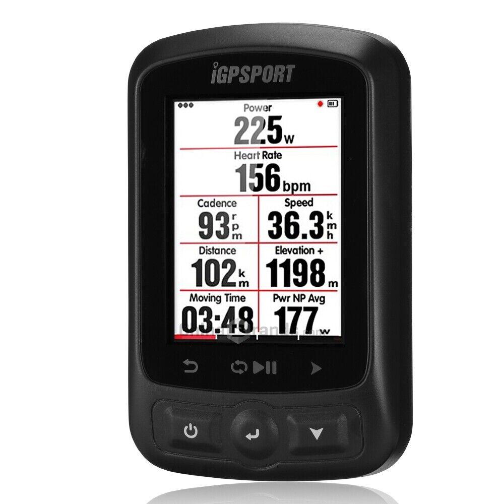IGPSPORT iGS618 Blautooth Wireless GPS Radfahren Computer