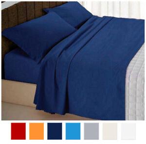 Completo-letto-MATRIMONIALE-SINGOLO-1-PIAZZA-E-MEZZA-cotone-set-lenzuola-federe