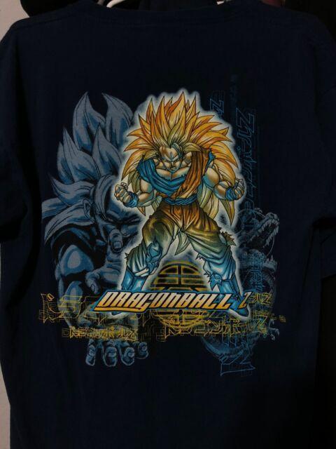 Saiyan Dragon Ball Z Manga Anime Black T-Shirt S-3XL