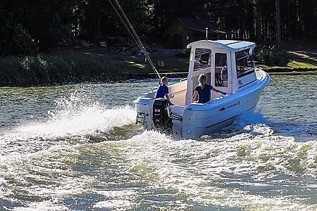 Smartliner Fisher 19, Motorbåd, årg. 2019