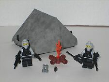 Lego Custom Camouflage Special Forces Navy Seals Basecamp Playset 2 Minifigs