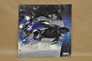 Details about 1998 Yamaha VMax SRX Full Line Snowmobile Parts Accessories  Catalog Brochure