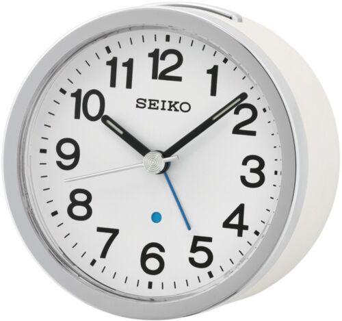 Seiko QHE138 Wecker Quarz Beleuchtung Schlummer-Funktion in 2 Farben