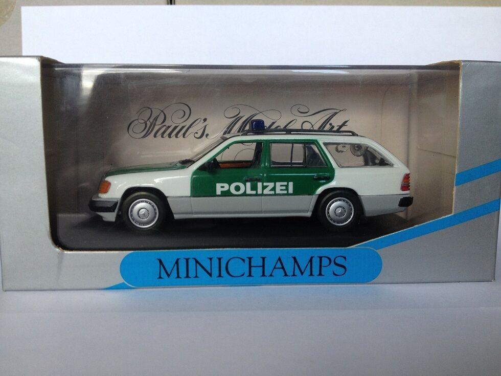 Minichamps 1 43 mercedes - benz 250td polizei deutschland...