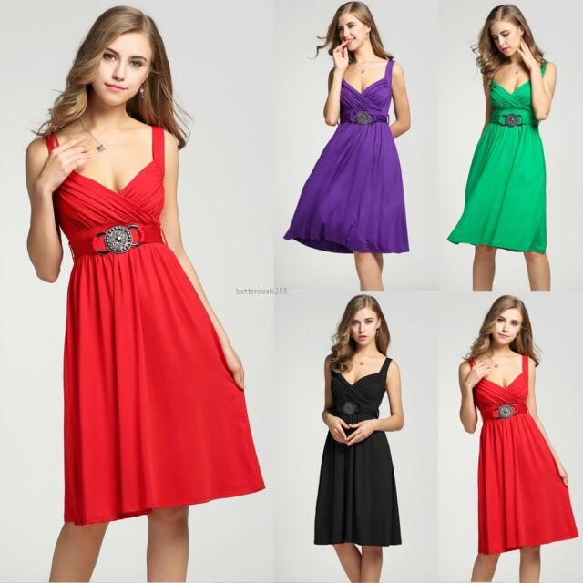 ❤Women Evening Formal Party Dress Ball Gown Prom Bridesmaid Dress Plus Size