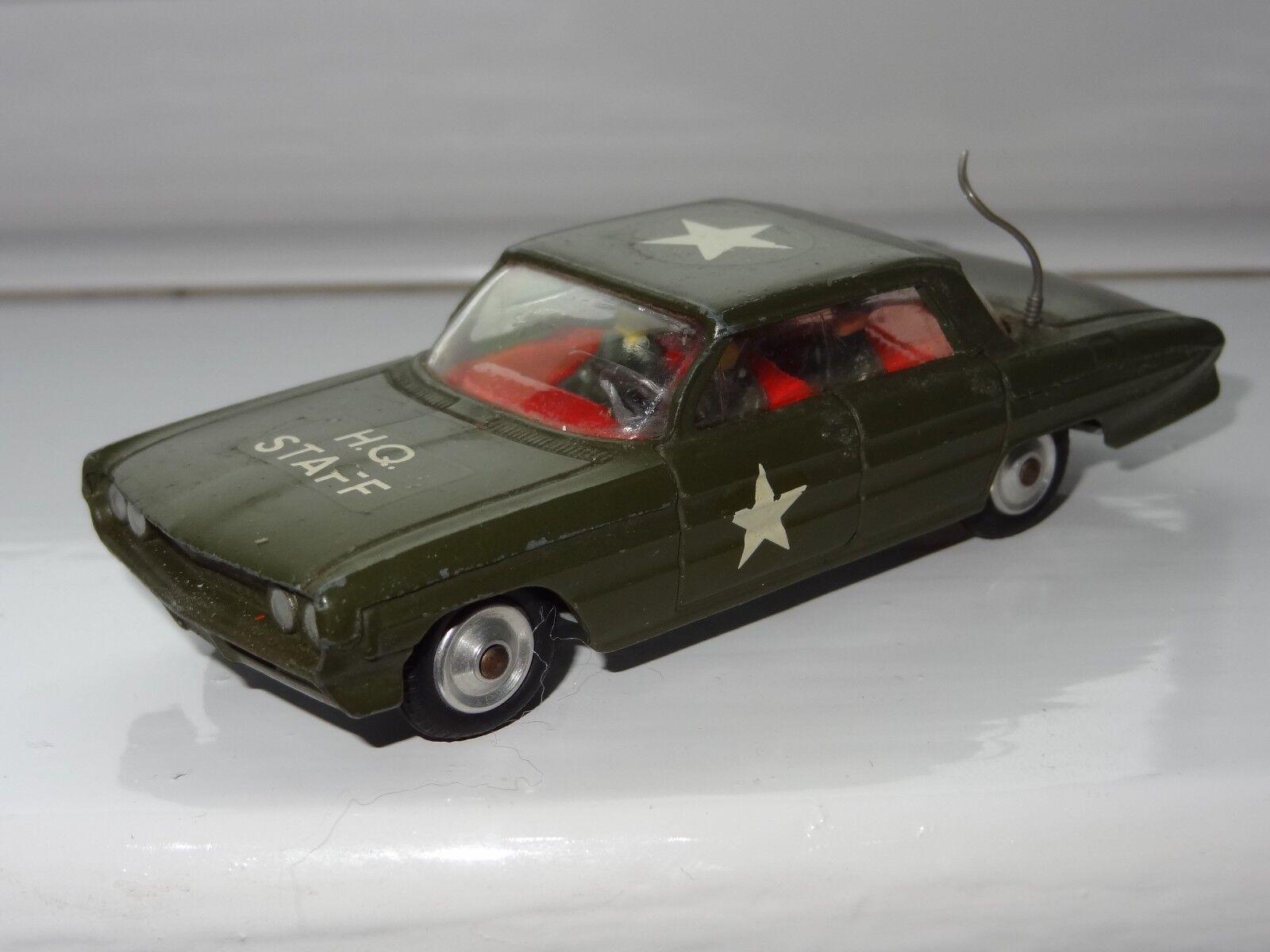 (RW) CORGI Oldsmobile Super 88 HQ Voiture d'état-major de l'armée américaine - 358