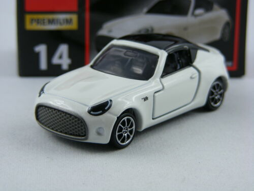 Toyota S-FR in weiss 1//60 Takara Tomy Tomica Premium #14