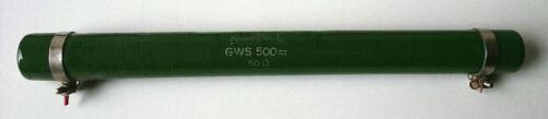 ROSENTHAL glasierter Drahtwiderstand 50 Ohm 227 GWS 500