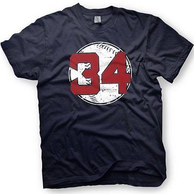 online store 85c90 a0d6b David Ortiz - Big Papi -Boston Red Sox - Number 34 T-Shirt - Retirement |  eBay