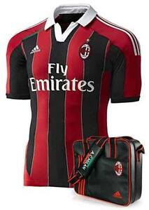 NEW AC MILAN JERSEY HOME TECHFIT AUTHENTIC ! SPECIAL SET BNWT