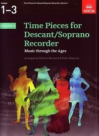 100% De Qualité Time Pieces For Descant Recorder Vol 1 *-afficher Le Titre D'origine Prix ​​De Rue
