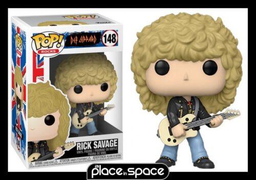 Def Leppard-Rick Savage FUNKO POP POP Rocks Vinyl Figure #148