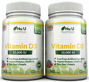 Vitamin-D3-10000iu-High-Strength-10-000iu-730-Soft-gel-capsule-100-Money-Back