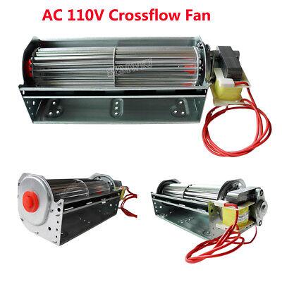 AC 100V-120V Universal Cross Flow Fan for Cooling Fan Heating Blower Ventilator