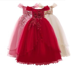 Kids-Flower-Girl-Princess-Dress-for-Girls-Party-Wedding-Bridesmaid-Gown-ZG8