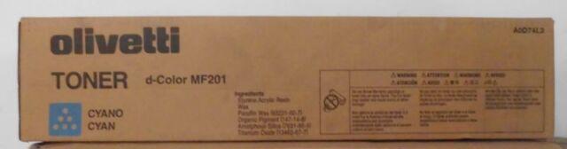 Original Olivetti B0781 Toner  cyan  für d-Color MF201    OVP B