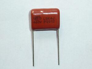 10PCS-CL21-564J-400V-0-56UF-560NF-P15-Metallized-Film-Capacitor