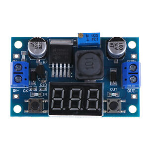 LM2596-DC-4-0-40-to-1-3-37V-LED-Voltmeter-Step-down-Power-Converter-Mod-PA