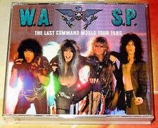 W.A.S.P. WASP-The Last Command World Tour Live 3 CD + DVD 1986 Kiss Motley Crue