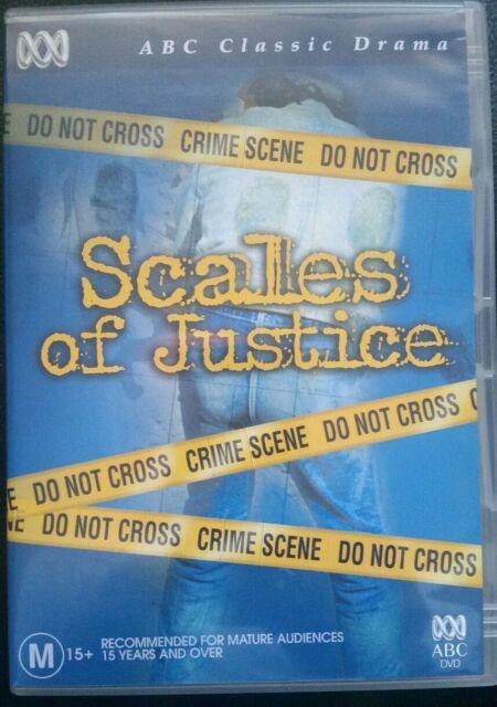 SCALES OF JUSTICE GENUINE REGION 4 DVD ABC 1983 AUST Police DRAMA Mini Series