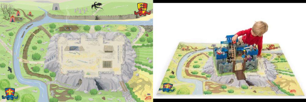 Le Toy  Van Castle Playmat  économiser sur le dédouanement