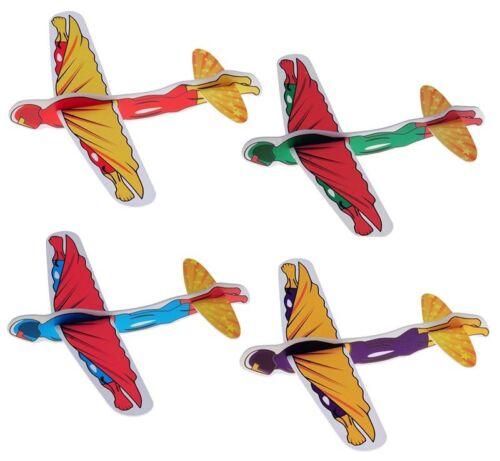 Großhandel & Sonderposten Superhelden Styroporflieger Styroporflugzeug Styropor Flieger Flugzeug Held Spielzeug