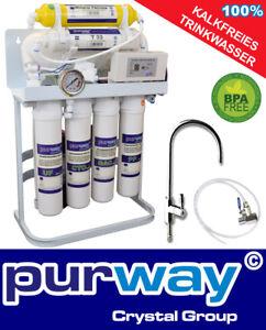 PUR-Booster-Quick-7-Stufen-Direct-flow-Umkehrosmoseanlage-400-GPD-ohne-Tank