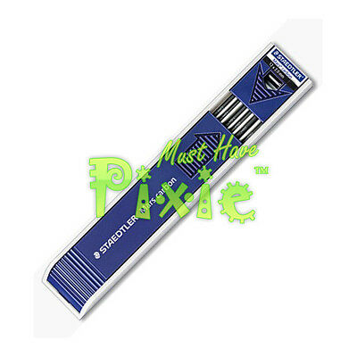 STAEDTLER 200 Mars 2 mm refill black leads for leadholder mechanical pencil - HB