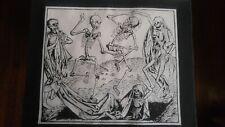 Occult Remember Death Skull Gothic Skeleton Memento Mori MISPRINT Back Patch