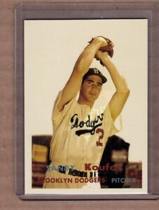 Sandy-Koufax-Los-Angeles-Dodgers-custom-card-by-Bob-Lemke-1957-style-302