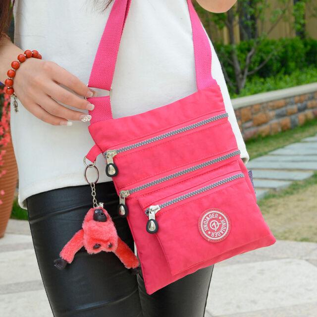 Hot Lady Handbag Shoulder Tote Purse Waterproof Nylon Women Messenger Hobo Bags