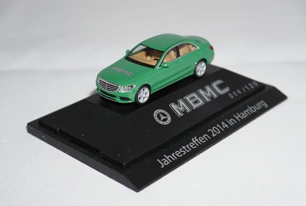 Sb292 Herpa Mercedes-Benz Clase C w204 mBMC años modelo 2014 PC + embalaje orig. 1 87