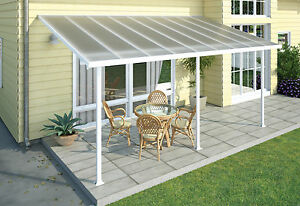 Image Is Loading Pergola Patio Cover Kit 5 4m Outdoor Veranda