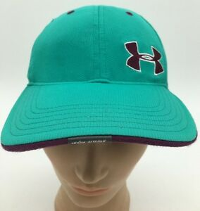 Image is loading Womens-Under-Armor-Heat-Gear-Teal-Green-Strapback- 2c5c9638f66