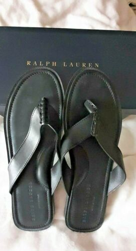 Men's Size 13 black Ralph Lauren Darnford Vachetta