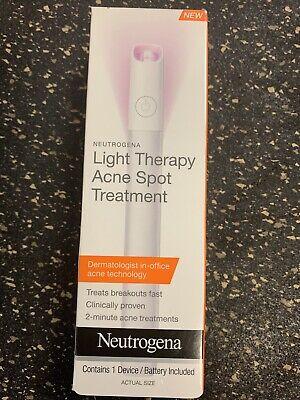 Neutrogena Light Therapy Acne Spot Treatment Brand New 70501101315