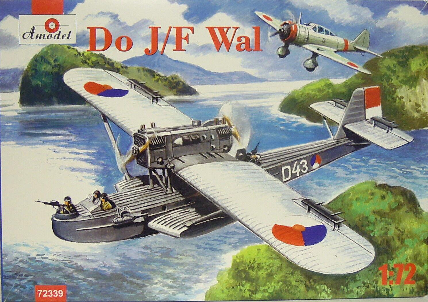 Flying Boat Dornier Do J F Whale  , Amodel, Netherlands, 1 72, Plastic,NEW