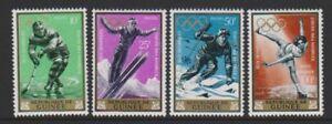 1964 Winter Olympische Spiele M/m Innsbruck Set Sg 435/8 Supplement Die Vitalenergie Und NäHren Yin Radient Guinea