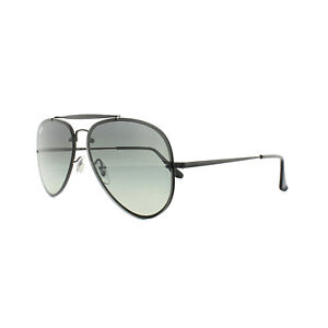 3359e453c3 Ray-Ban Sunglasses Blaze Aviator 3584N 153 11 Black Grey Gradient ...