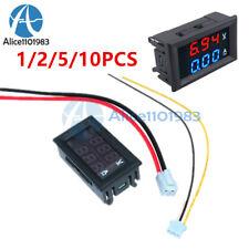 12510x Digital Display Dual Led 100v 10a Ammeter Voltmeter Amp Volt Meter