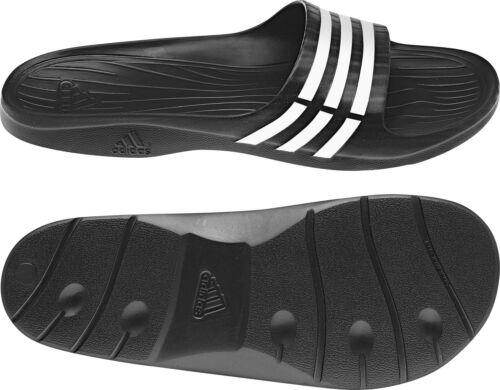 Adida Duramo Sleek W Damen-Duschadilette Badesandale schwarz