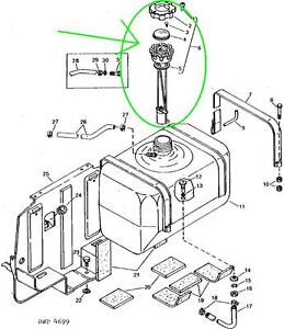 image is loading john-deere-650-750-850-950-fuel-cap-