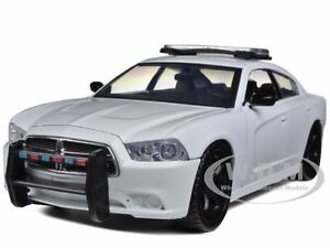 image is loading dodge charger pursuit unmarked blank white police car - White Dodge Charger
