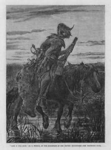 1864-Antique-FINE-ART-Print-Artist-Frederick-Weeks-Jock-O-039-The-Syde-209