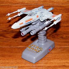 Star Wars Action Fleet X-Wing Fighter With Flight Controller / Talking Stand