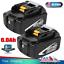 2 Pack For Makita BL1860B 18V Battery 6.0 AH LED Gauge 18 Volt LXT-400 BL1850B-2