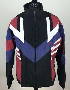 Details about Vintage 90s adidas Track Jacket Windbreaker Men's Size M D6 F180 Track Light Top