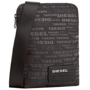 facc328a97ffdf Details about DIESEL JEANS MENS BAGS MESSENGER BAGS SCHOOL BAGS