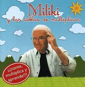 Details About Miliki Las Tablas De Multiplicar New Cd