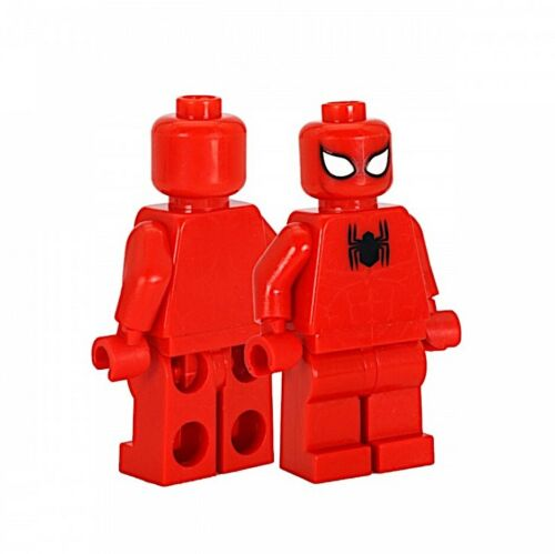 ⎡CRAZY MINIFIGS⎦ Custom Scarlet Spider-Man Lego Minifigure